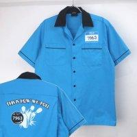 Hilton ヒルトン ボウリングシャツ  THIS IS HOW WE ROLL【メール便可】