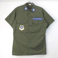 ユーティリティシャツ ポリコットン TROOPER  U.S.AIR FORCE 【メール便可】