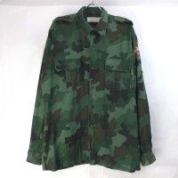 セルビア軍 カモフラージュ シャツ#4
