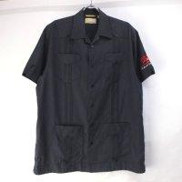 Cubavera キューバシャツ ブラック M【メール便可】