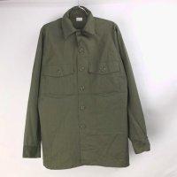 米軍 DURA PRESS ユーティリティシャツ デッドストック  リペア 15.1/2x33