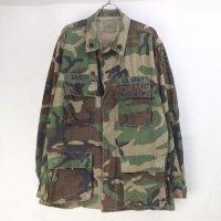 米軍  ウッドランドカモ  BDU シャツジャケット MR  1989