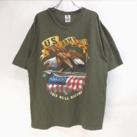 U.S.ARMY 1775 OD  Tシャツ 古着 USA製【メール便可】