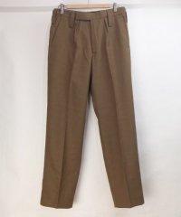 イギリス軍 オフィサードレスパンツ  トラウザー ブラウン 76/84/100実寸W32.5L30 デッドストック