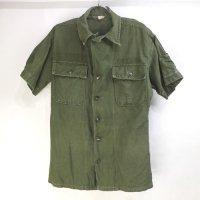 米軍 ユーティリティ シャツ 60's 筒袖型半袖