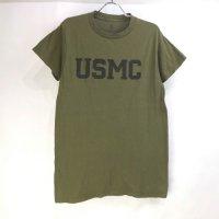 USMC Tシャツ OD 古着 USA製【メール便可】