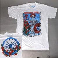 グレイトフルデッド Tシャツ BERTHA WHEEL & ROSES(M) 新品 【メール便可】