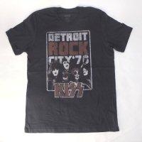 キッス Tシャツ KISS, DETROIT ROCK CITY  (M)【メール便可】 新品