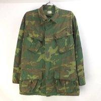 米軍 ジャングルファティーグ シャツジャケット グリーンリーフカモ SS