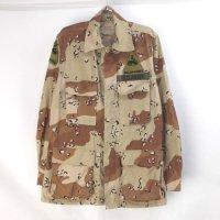 米軍 チョコチップカモ BDU シャツジャケット  HELL ON WHEEL SR
