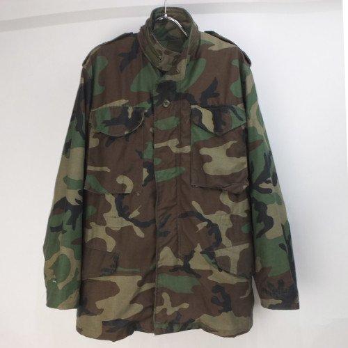 M-65 フィールドジャケット  ウッドランドカモ XSR 米軍 実物