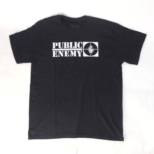 (L) パブリックエネミー PUBLIC ENEMY Tシャツ (新品) 【メール便可】
