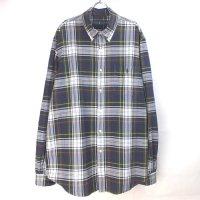 ラルフローレン  チェック ボタンダウン シャツ XL ビッグシャツ 【メール便可】