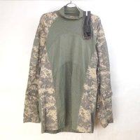 ARMY コンバットシャツ ACUカモ ロンT (M) 紙札ラベル付き