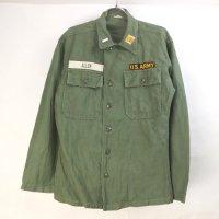 米軍   ユーティリティシャツ  リサイズ U.S.ARMY 60's 筒袖