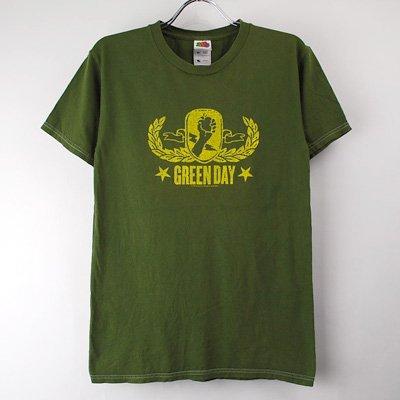 グリーンデイ Tシャツ (古着)  サイズ【リサイズSぐらい 】   【メール便のみ】