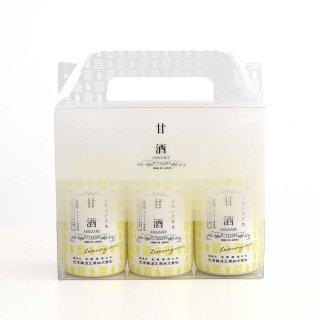 甘酒3本ギフトBOXセット(レモングラス×3本)