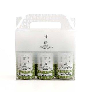 甘酒3本ギフトBOXセット(抹茶×3本)