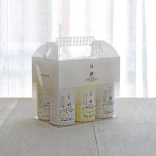 甘酒6本ギフトBOXセット(プレーン×3本・レモングラス×3本)