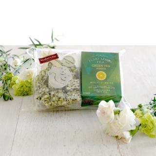 【Mother's Day Gift】「FLTグリーンティープレミアム」とひなのやさんのポン菓子「新宮かぶせ抹茶」のセット