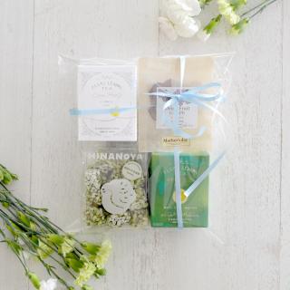 【Mother's Day Gift】「フロートレモンティー」と「干しぶどう」とひなのやさんの「新宮かぶせ抹茶」の4点セット