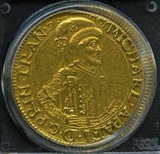 1670 10 Duc Transylvania KM- 403 【AU50】