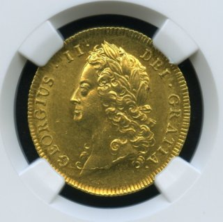 1739 G.BRITAIN GUINEA 【MS63】
