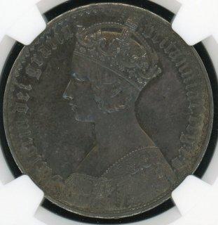 1847 UN DEC. G.BRITAIN CROWN GOTHIC TYPE【PF63】
