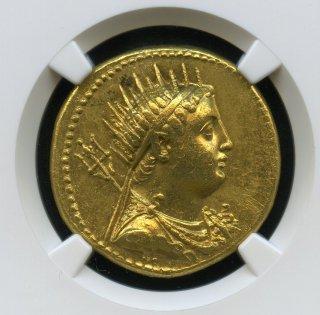 PTOLEMAIC KINGDOM Ptolemy III, 246-222 BC AV Octodrachm (27.77g)