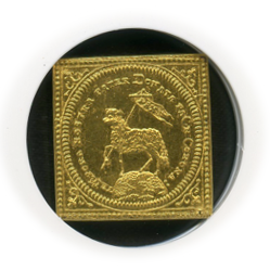(1700) IMF GERMANY DUCAT NURNBERG FR-1886 KLIPPE RESTRIKE 【MS 62】