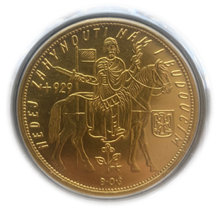 1936 Czechoslovakia 10D	【MS 65】