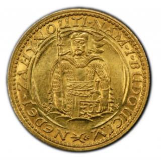 CZECHOSLOVAKIA. Dukat 1926 【MS64】