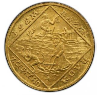 CZECHOSLOVAKIAI. 2 Dukaten 1928 【MS64】