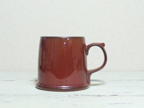 TARUマグ   白山陶器 鉄赤