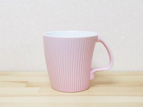 ストレッチマグ  白山陶器 ピンクマット