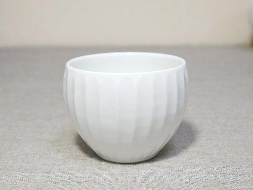 白磁竹林彫