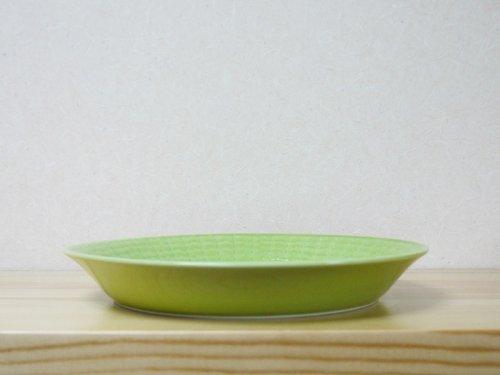 ブラッドプレート(S) 15.5� ライトグリーン(M有)