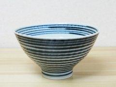 藍こま お茶碗