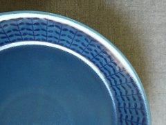 ブラッドプレート(S) 15.5� 紺(M有)