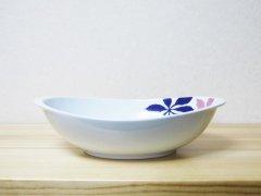フローラルカレー鉢(ピンク)