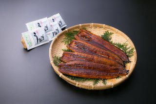 鹿児島県大隅産うなぎ蒲焼4尾760g  (190g×4尾 たれ・山椒×4)