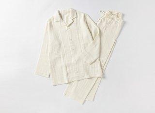 綾Wガーゼ 前開きパジャマ