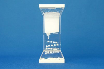 プレイタイマー 約3分 オイル時計 スロープ(白)