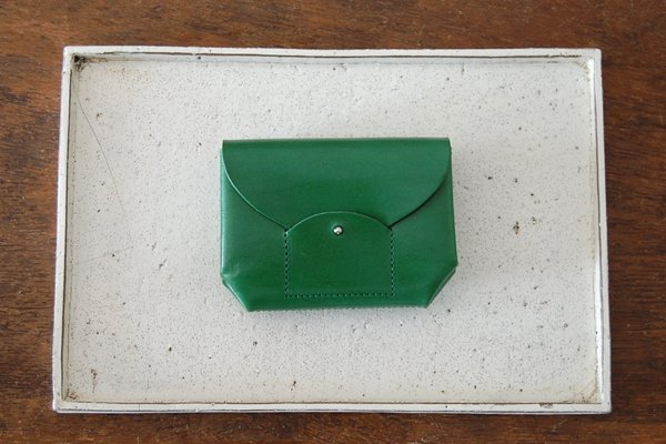 irose イロセ RICRAC MINI WALLET(グリーン)ACC-R02