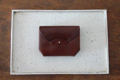 irose イロセ RICRAC MINI WALLET(ブラウン)ACC-R02
