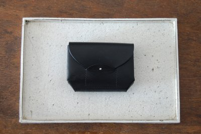 irose イロセ RICRAC MINI WALLET(ブラック)ACC-R02