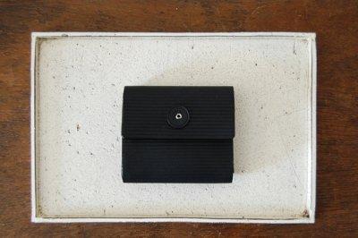 irose イロセ CARDBOARD MINI WALLET ACC-C02(ブラック)