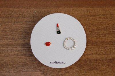 studio trico / ふるやともこ ピアス 淑女3点セット