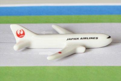 【新商品】飛行機箸置き  (日本航空/JAL787)
