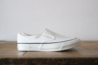 Asahi アサヒシューズ ASAHI DECK レディス【L010】ホワイト WHITE スリッポン 22.5cm〜25.0cm
